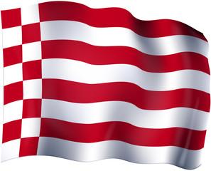 Flagge von Bremen 1