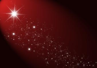 Stern mit Sternenstaub