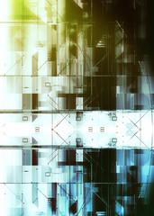 futuristic high-tech background
