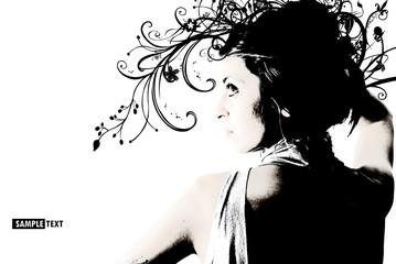 Ragazza, Profilo di donna