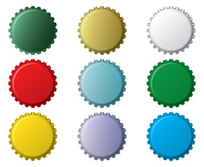 bottle top unnamed generic vector