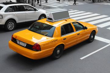 Foto auf AluDibond New York TAXI New York city cab