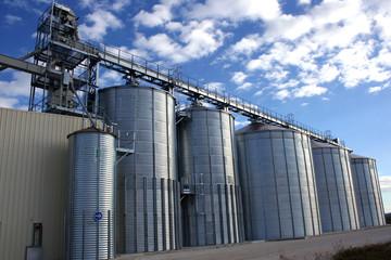 silos de céréales