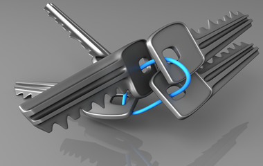 Keys muddle