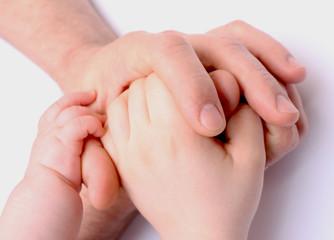 Verschlungene Hände