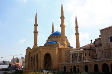 Blaue Moschee Mahammed Al-Amine