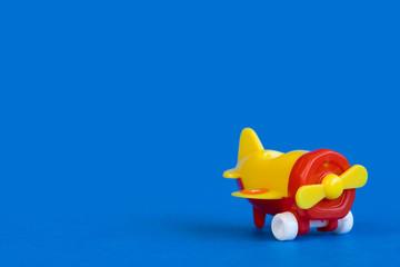 Plastic airplane toy