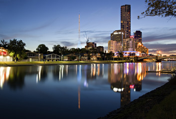 Melbourne at Twilight