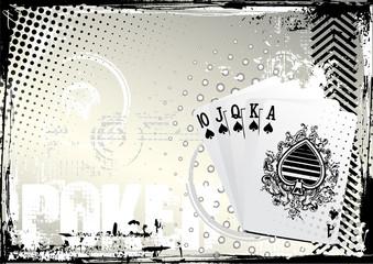 poker grunge background