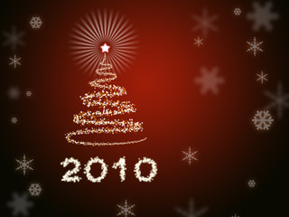 Beautiful New Year background