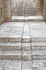 staircase in Jerusalem