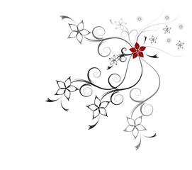 Floral Ornamet Blüten Vektor