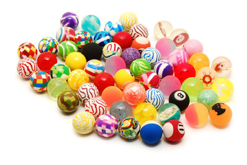 colored toy balls