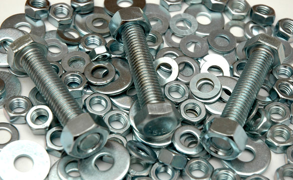 screws and washers
