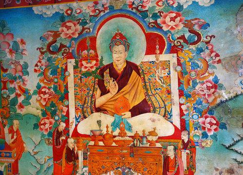 tanka dalaï lama