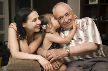 Happy family – three generation together !
