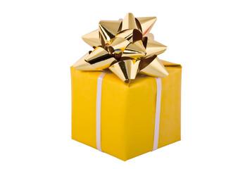 Gift packing, Yellow box