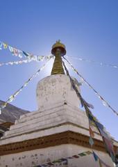 Stupa, Rongbuk Monastery, Tibet