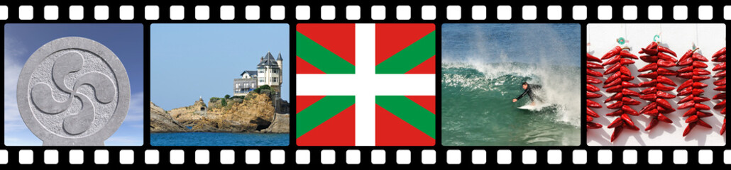 Filmstrip of Basque Country