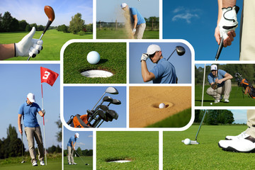 Golf Collage 2