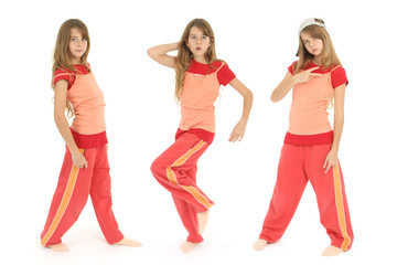 Jeune danseuse Hip-Hop