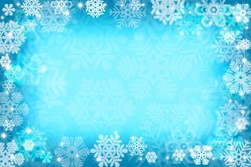 雪の結晶パターン
