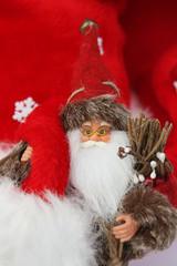 Weihnachtsmann mit Brille