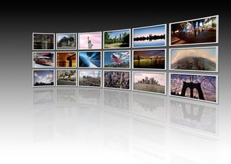 NY - Videowall