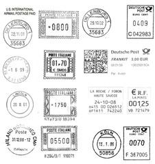 dark postmarks (Europe)
