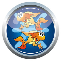 button sternzeichen fische