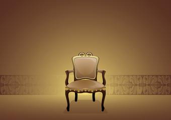 Antique indoor chair