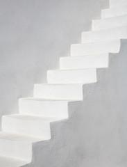 Foto op Plexiglas Trappen Simply White