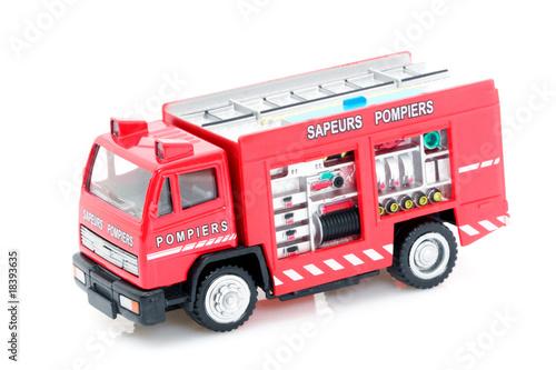 jouet d 39 enfant camion de pompiers photo libre de droits sur la banque d 39 images. Black Bedroom Furniture Sets. Home Design Ideas