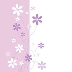 Fototapeta pink and purple flowers obraz