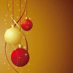 Vector illustration of Christmas and New Year decoration