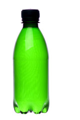 Bottled Sparkling Water Isolated