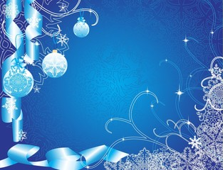 Blu winter back