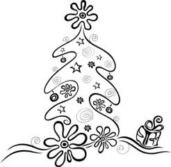 christmas tree, Weihnachten, Weihnachtsbaum, Heiligabend