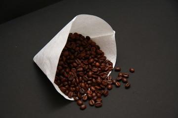 Canvas Prints Coffee beans filtre à café