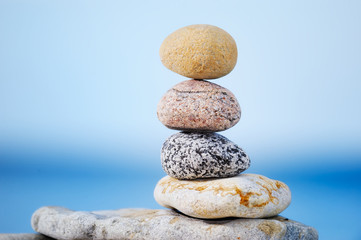 Diverse stones