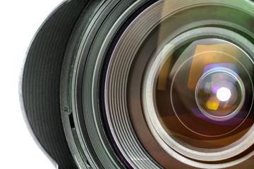Professional Digital Photo Camera Zoom Lens Close up