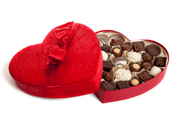 Hearat Shaped box with Candy