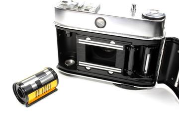 Kamera mit Film