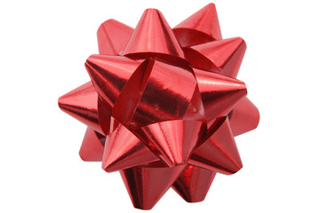 Red gift decoration
