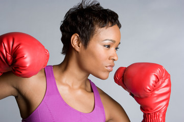 Young Boxer Girl