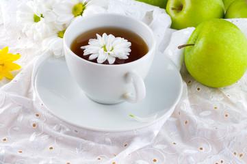 tea with a camomile.