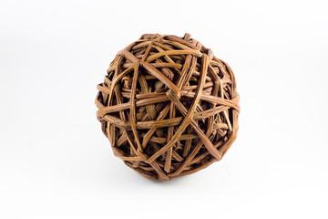 Bola de mimbre
