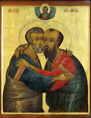 icon of Apostles Peter and Paul