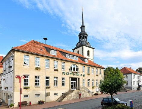 Das Rathaus in Elze