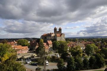 Schloss und Stiftskirche in Quedlinburg